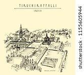 tiruchirappalli  trichy   tamil ...   Shutterstock .eps vector #1155605944