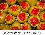 stuffed peppers. perfect...   Shutterstock . vector #1155616744