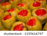 stuffed peppers. perfect...   Shutterstock . vector #1155616747