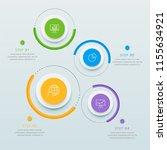 infographics business design... | Shutterstock .eps vector #1155634921