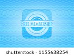 free membership water wave... | Shutterstock .eps vector #1155638254