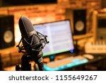 Microphone In Sound Studio....