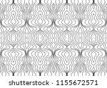 vector black white seamless... | Shutterstock .eps vector #1155672571