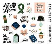 cute vector illustration of...   Shutterstock .eps vector #1155674611