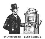 fantastic vintage fake... | Shutterstock .eps vector #1155688831