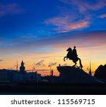The Bronze Horseman In St...