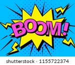 comics boom  comic vector... | Shutterstock .eps vector #1155722374