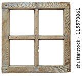 Very Old Grunge Wooden Window...