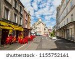 cherbourg octeville  france  ... | Shutterstock . vector #1155752161