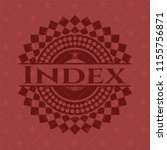 index badge with red background | Shutterstock .eps vector #1155756871