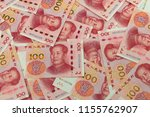 yuan notes from china's... | Shutterstock . vector #1155762907