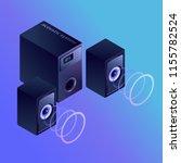 gradient vector isometric...   Shutterstock .eps vector #1155782524