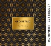 geometric pattern luxury cover | Shutterstock .eps vector #1155803377