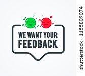 vector illustration we want... | Shutterstock .eps vector #1155809074