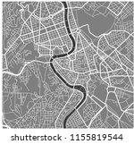 vector map of the city of rome  ... | Shutterstock .eps vector #1155819544