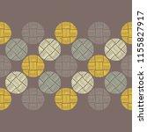 polka dot seamless pattern.... | Shutterstock .eps vector #1155827917