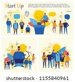 vector concept illustration... | Shutterstock .eps vector #1155840961