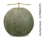 melon isolated on white with...   Shutterstock . vector #1155863191