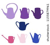 watering can hand drawn vector... | Shutterstock .eps vector #1155879961