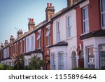 english houses  a typical row... | Shutterstock . vector #1155896464