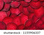 Cut Beets As Background....