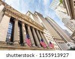 Exterior of new york stock...