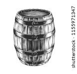 engraved style illustration for ... | Shutterstock . vector #1155971347