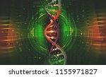 dna helix. hi tech technology... | Shutterstock . vector #1155971827