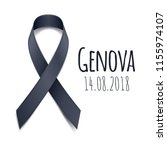 14.08.2018   pray for genova.... | Shutterstock .eps vector #1155974107