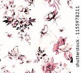 seamless background pattern.... | Shutterstock . vector #1155978211