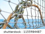 sailboat details  marine ropes | Shutterstock . vector #1155984487