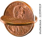 Two Cents  Two Pennies Togethe...