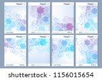 business templates brochure ... | Shutterstock .eps vector #1156015654