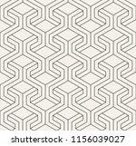 vector seamless pattern. modern ... | Shutterstock .eps vector #1156039027