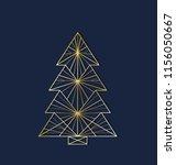 vector illustration christmas... | Shutterstock .eps vector #1156050667
