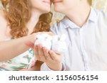 faceless shot of man and woman...   Shutterstock . vector #1156056154