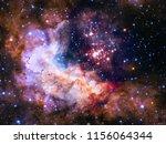 universe recoloring art image... | Shutterstock . vector #1156064344
