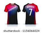 t shirt sport design template ... | Shutterstock .eps vector #1156066024