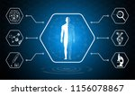abstract background technology... | Shutterstock .eps vector #1156078867