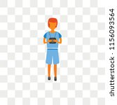 tourist vector icon isolated on ... | Shutterstock .eps vector #1156093564