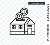 mortgage vector icon isolated... | Shutterstock .eps vector #1156120291