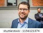 ume   sweden   august 14  2018. ... | Shutterstock . vector #1156121374