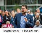 ume   sweden   august 14  2018. ... | Shutterstock . vector #1156121404