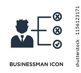 businessman icon vector...