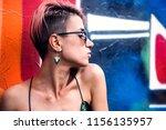 Street Punk Or Stylish Girl...