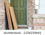 large packages in cardboard... | Shutterstock . vector #1156154641