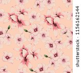 seamless pattern pink pastel... | Shutterstock .eps vector #1156162144