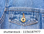 dark blue jeans texture for... | Shutterstock . vector #1156187977