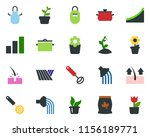 colored vector icon set   field ... | Shutterstock .eps vector #1156189771
