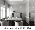 modern design interior of... | Shutterstock . vector #11561974